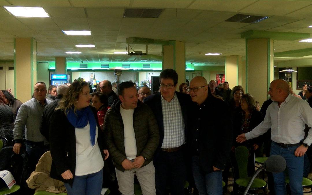 Mitin del PSOE por las elecciones generales y las municipales