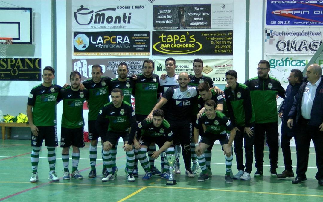 El Club Patín Bar elimina al Villanueva y jugará ante el filial del Jaén Paraíso Interior los cuartos de final de la V Copa Presidente de la Diputación