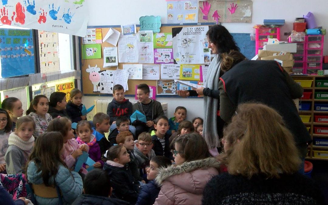 Semana de animación a la lectura en el CEIP Padre Rejas