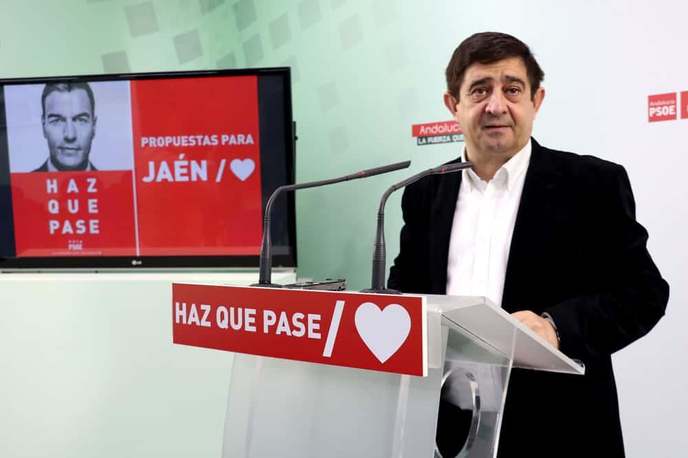Reyes: «La recuperación del Plan Activa es imprescindible para la provincia de Jaén»