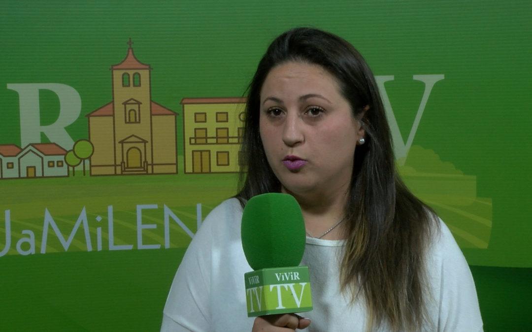 """Rosa Moreno: """"Vengo para luchar por los jóvenes, las mujeres y todo el que lo necesite en Jamilena sin distinción"""""""