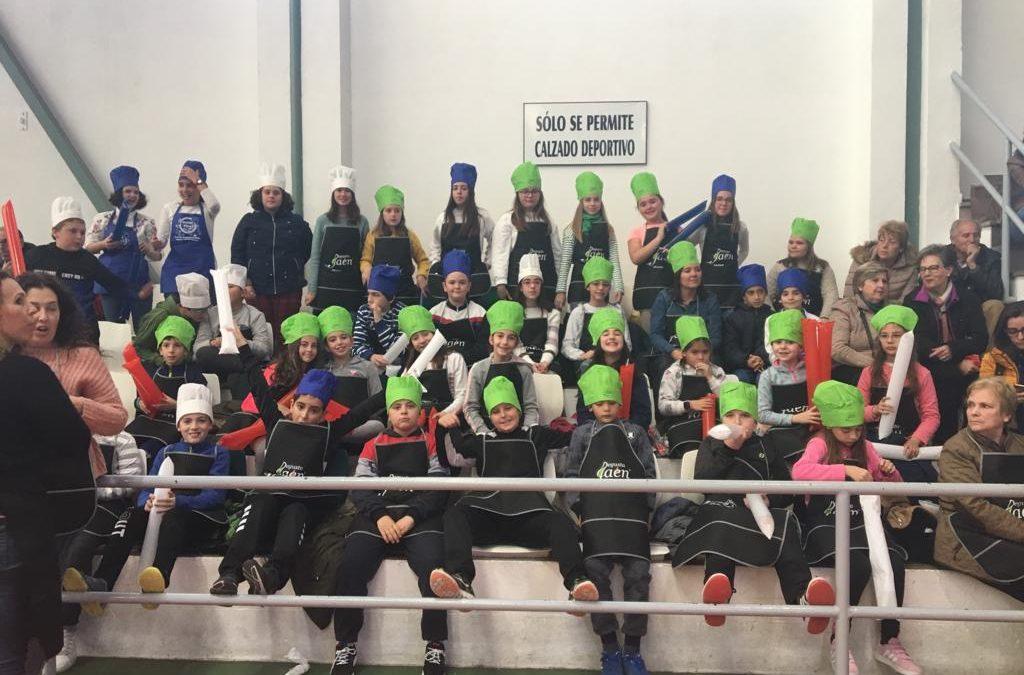 Los escolares de El Olivo y Toxiria llegan a la final del Concurso de Cocina Degusta Jaén en Primaria