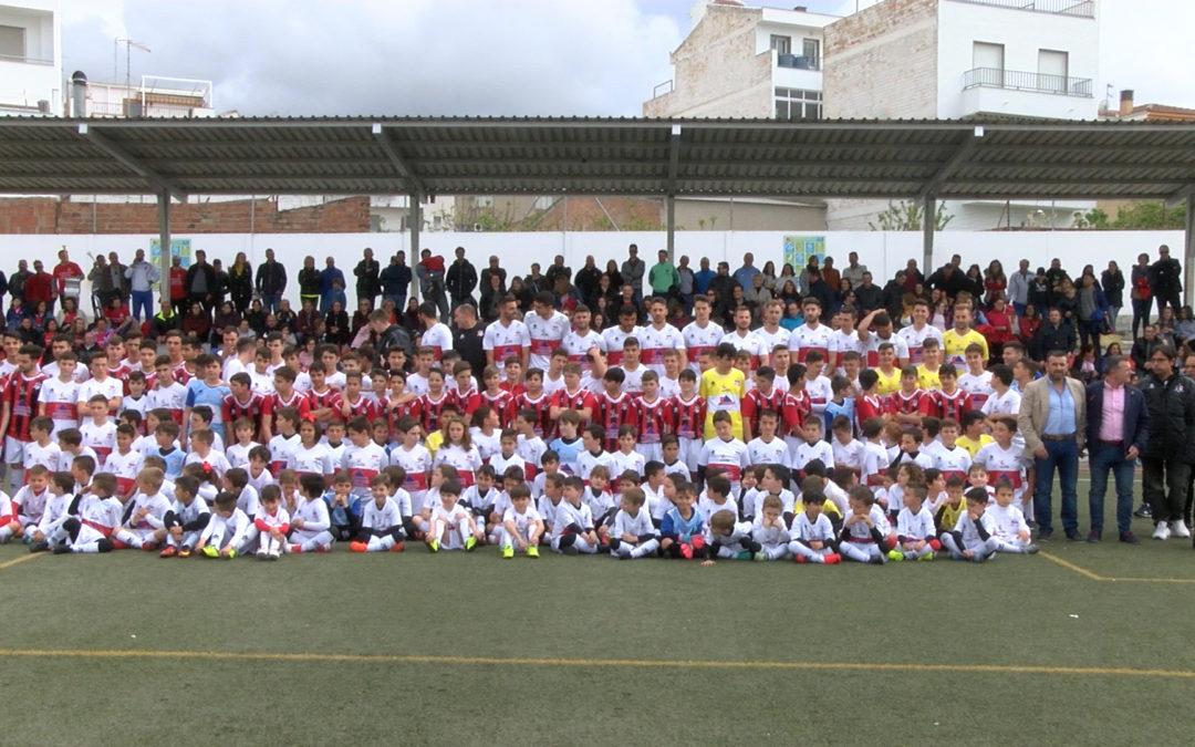 El Campus de Fútbol del CD Hispania comienza a tomar forma para el mes de agosto