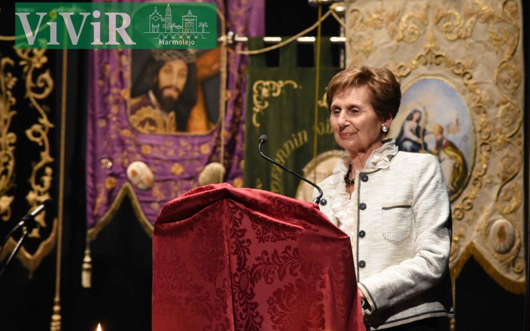 Ana María Pastor pregona la Semana Santa de Marmolejo 2019