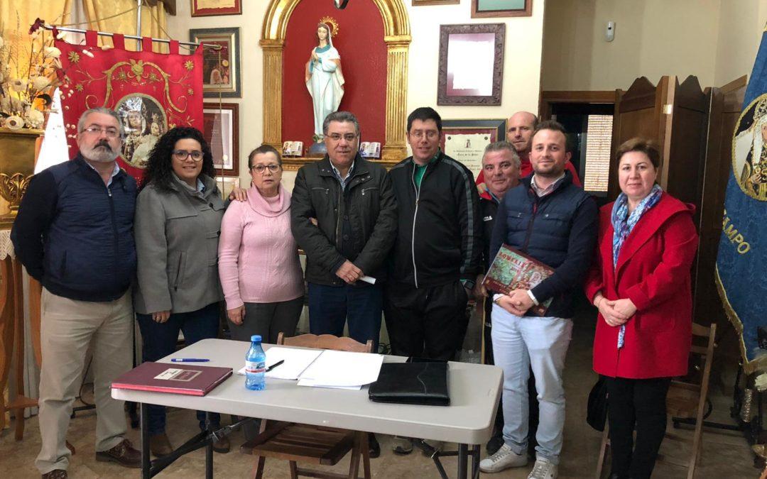 La Cofradía de Santa Ana ultima detalles para la Romería 2019