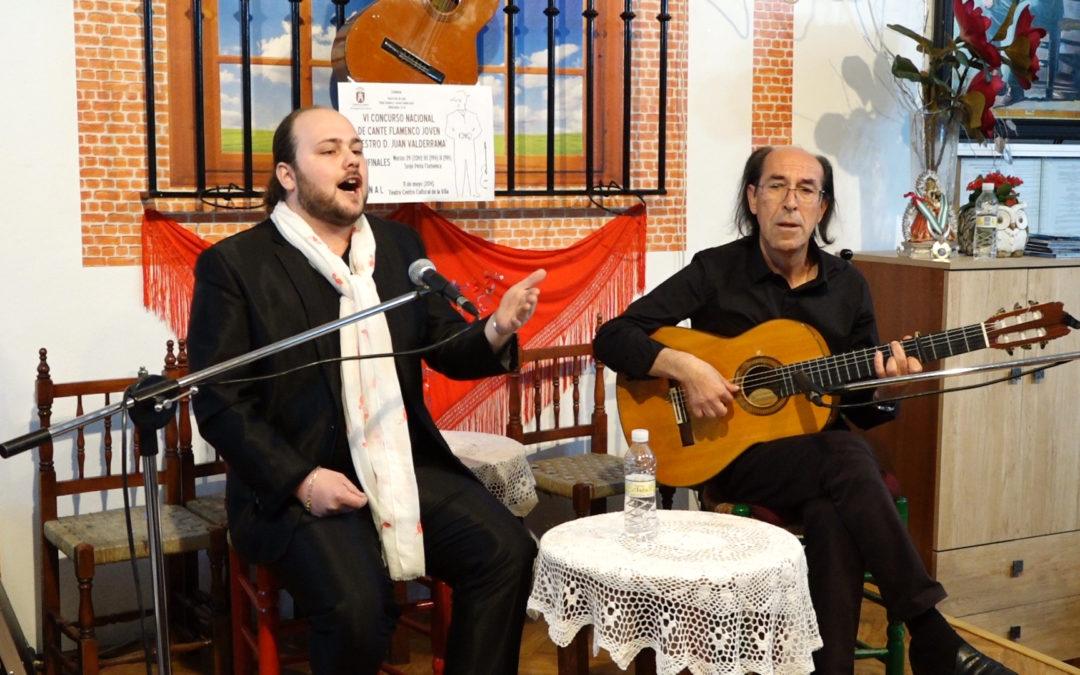 Finalistas del IV Concurso Nacional de Cante Flamenco Joven Maestro D. Juan Valderrama