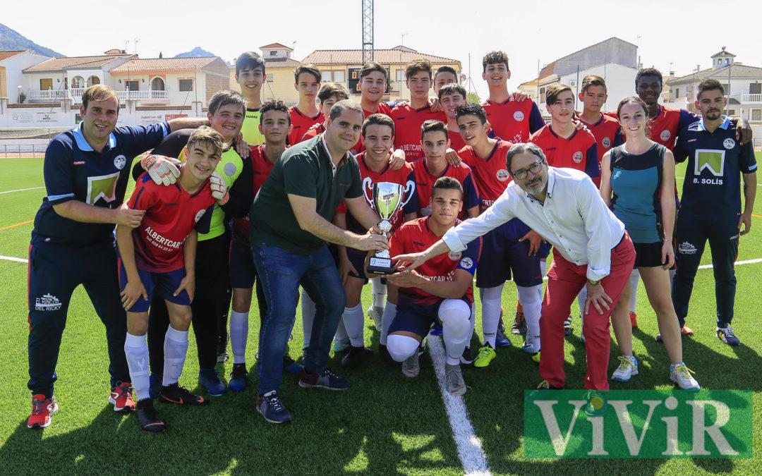 Campeones de Liga y ascenso a 1ª División Andaluza