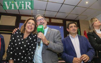 Susana Díaz visitó la Casa de Pueblo de Alcaudete