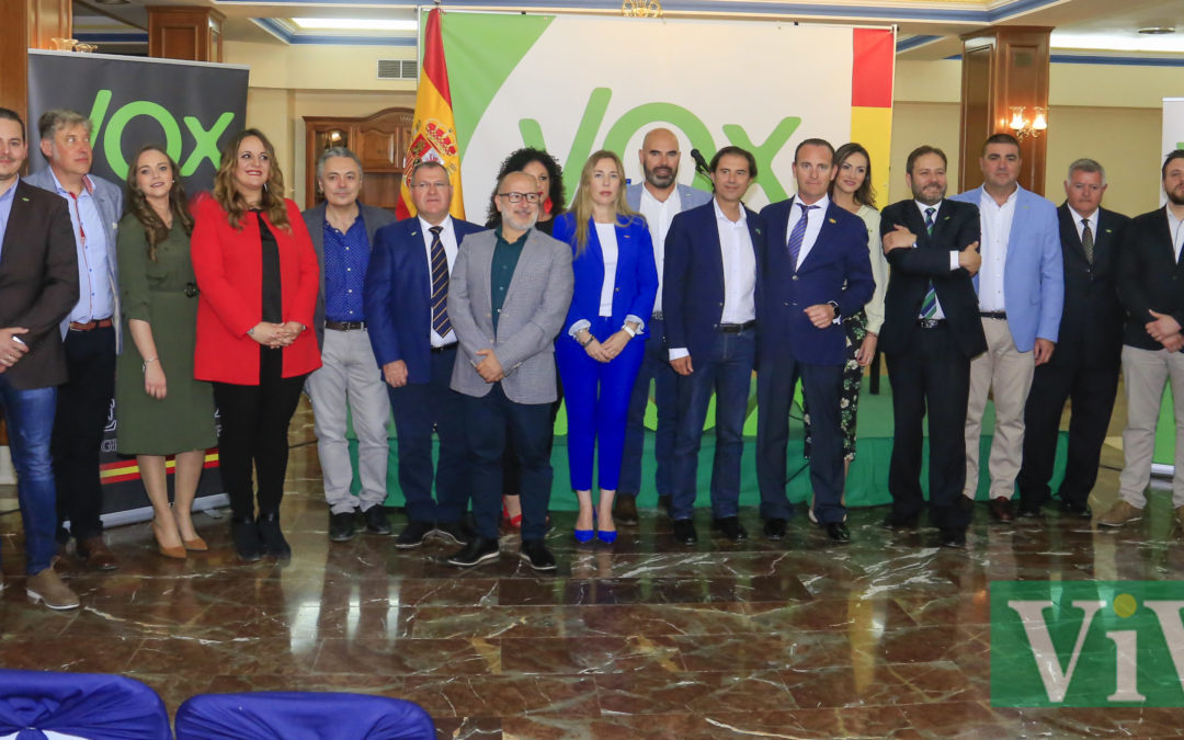 Presentación de los candidatos de Vox en Martos