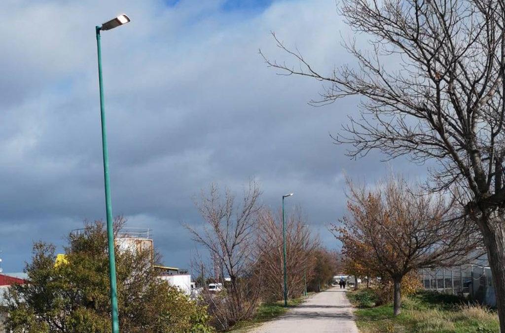 Mejoras en la iluminación de la Vía Verde