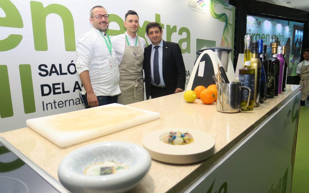El cocinero Álvaro Salazar participa en Expoliva