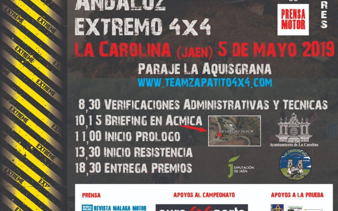 La segunda prueba del Campeonato Andaluz Extremo 4×4 llega a La Carolina