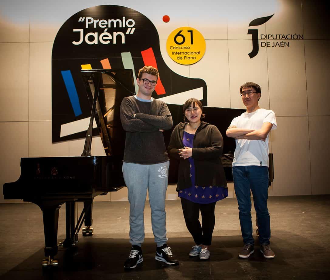 20190501 Finalistas 61 Premio 'Jaén' de Piano 1