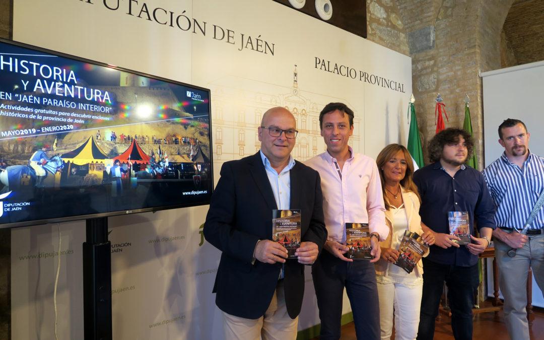 El programa «Vive Castillos y Batallas» llegará a Lopera con un espectáculo de luz y sonido