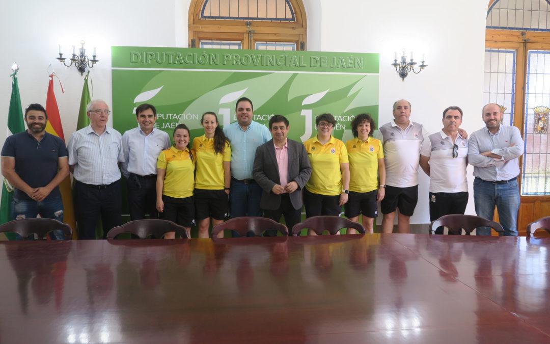 Recepción oficial al Martos FS femenino tras su ascenso a Segunda División
