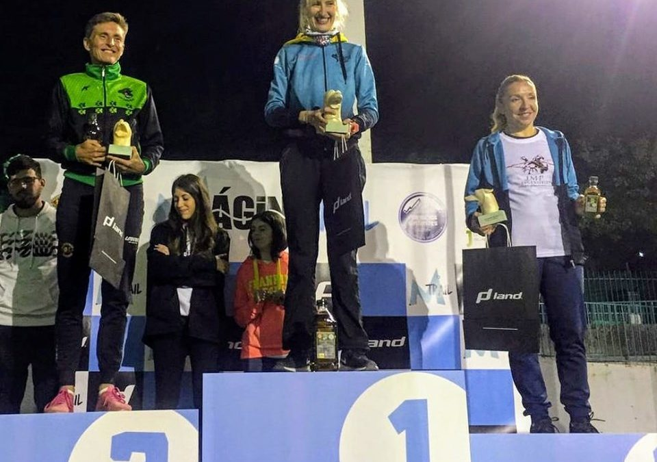 Noelia Camacho, vencedora del Ultra Trail Mágina