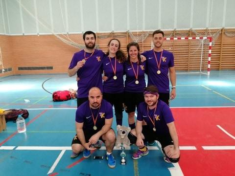 El «K-Olea» de Martos, campeón de España de KinBall por sexta vez