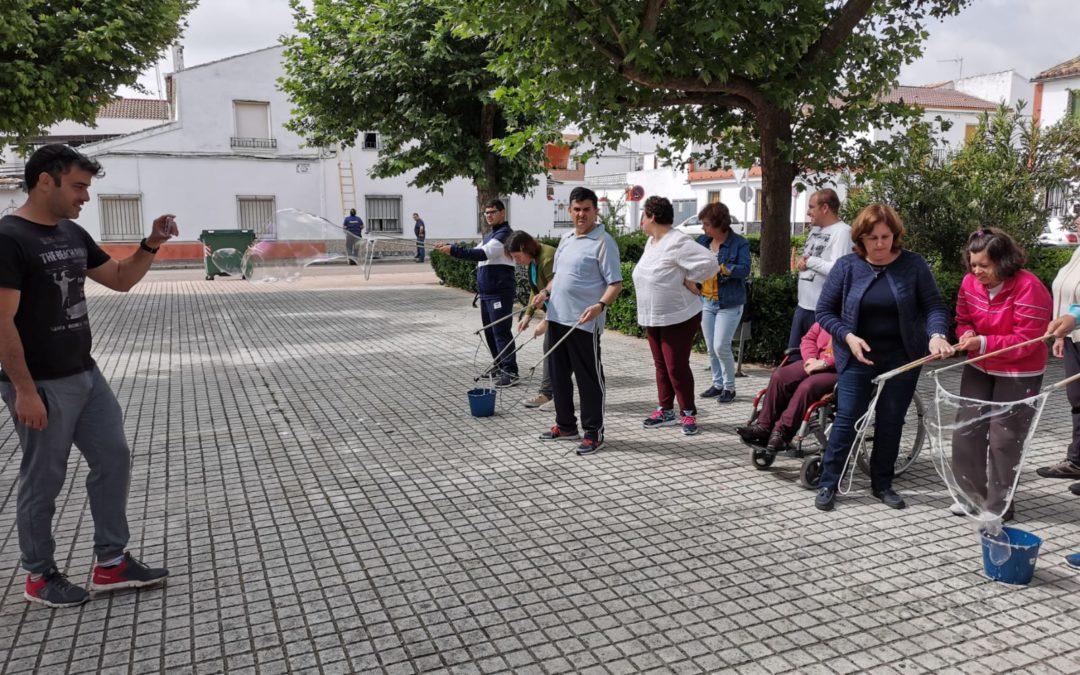 El taller ocupacional «La Fuente» participa en el proyecto We play all