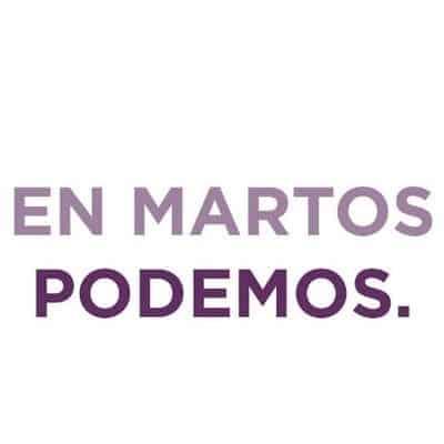 Sorpresa en Podemos por el uso de la marca «Adelante Martos»