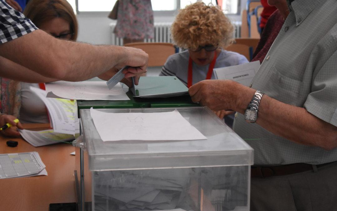 Ligero aumento del 2,07% de la participación en las municipales en Lopera