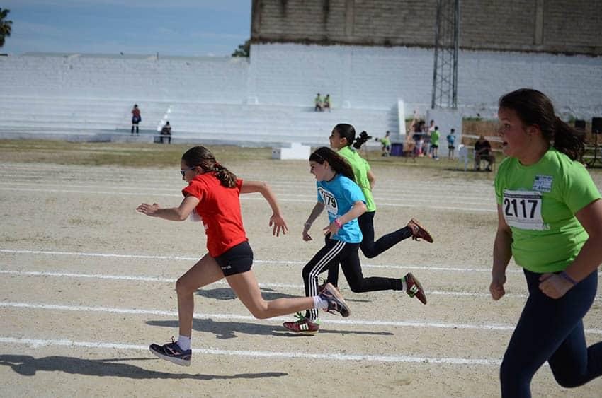 Alta participación e inmejorable ambiente en las IV Miniolimpiadas