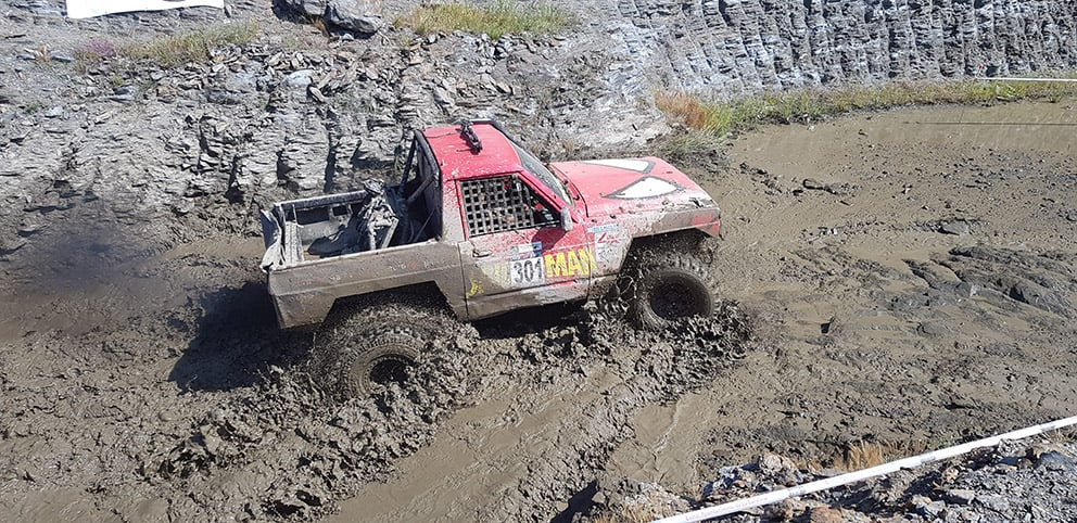 Vuelcos, abandonos y mucha arena en la segunda prueba del Campeonato Andaluz Extremo 4×4