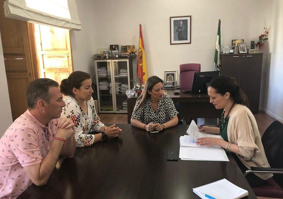 Visita institucional de la Delegada del Gobierno