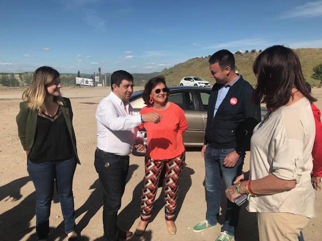 Carmen Calvo apoya a Daniel Campos para la alcaldía
