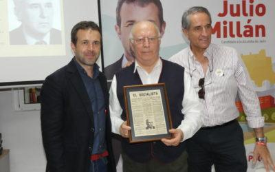 El PSOE de Jaén reconoce a Juan Manuel Villar