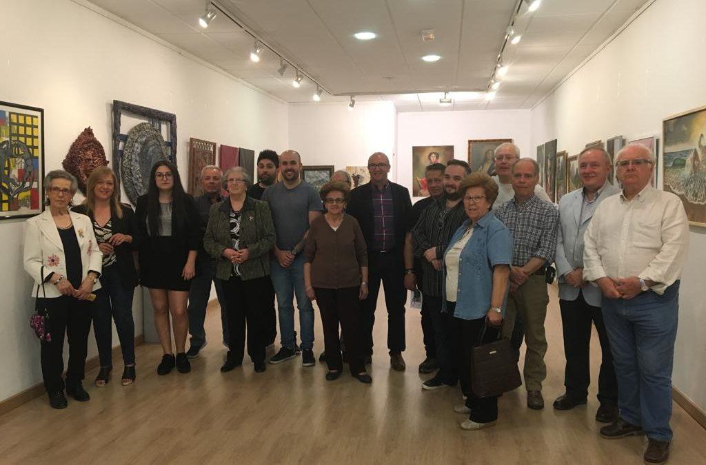 La Asociación Cultural La Pincelada inaugura su nueva exposición