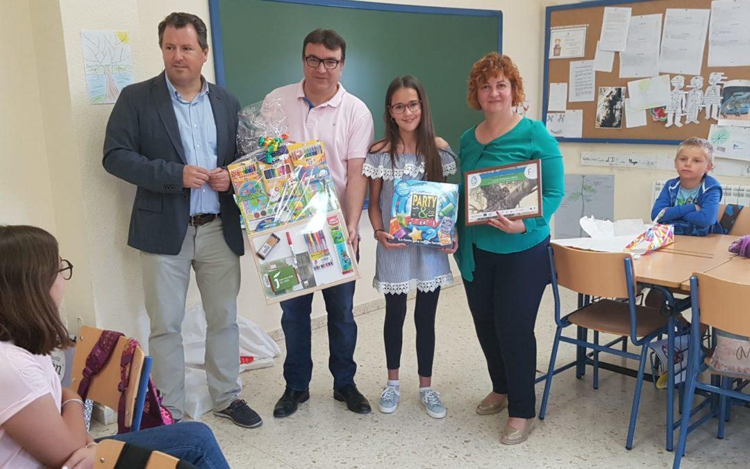 Premio «Olivares Vivos» en el colegio Ventas del Carrizal