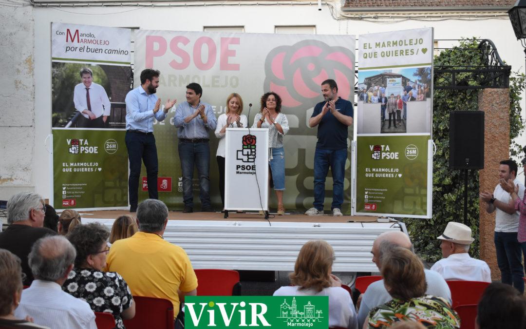 Manuel Lozano: «Tenemos que ir con la perspectiva de mirar en el futuro de Marmolejo y de no entrar en ninguna rencilla que no viene a favorecer los intereses de los ciudadanos»
