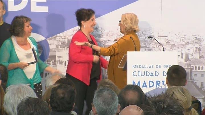 Madrid entrega la medalla de oro de la ciudad a la cantaora linarense Carmen Linares