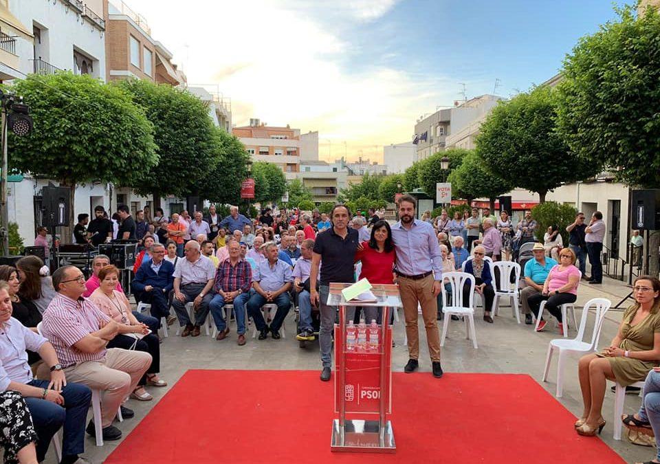 Cierre de campaña del PSOE de Torredelcampo