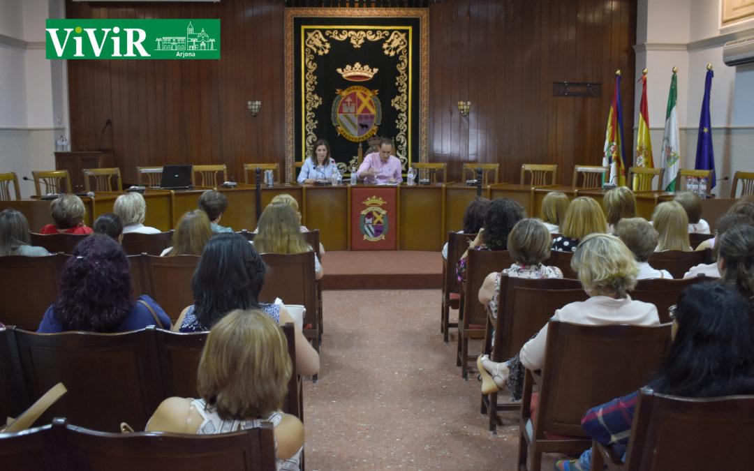 Arjona acoge un encuentro comarcal de asociaciones de mujeres