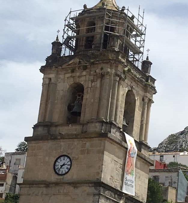 La Torre-Campanario de Santa Marta será visitable