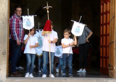 procesión infantil