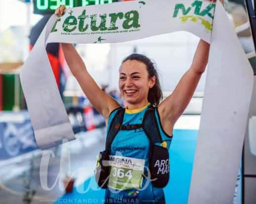 Silvia Lara, vencedora del Trail Mágina