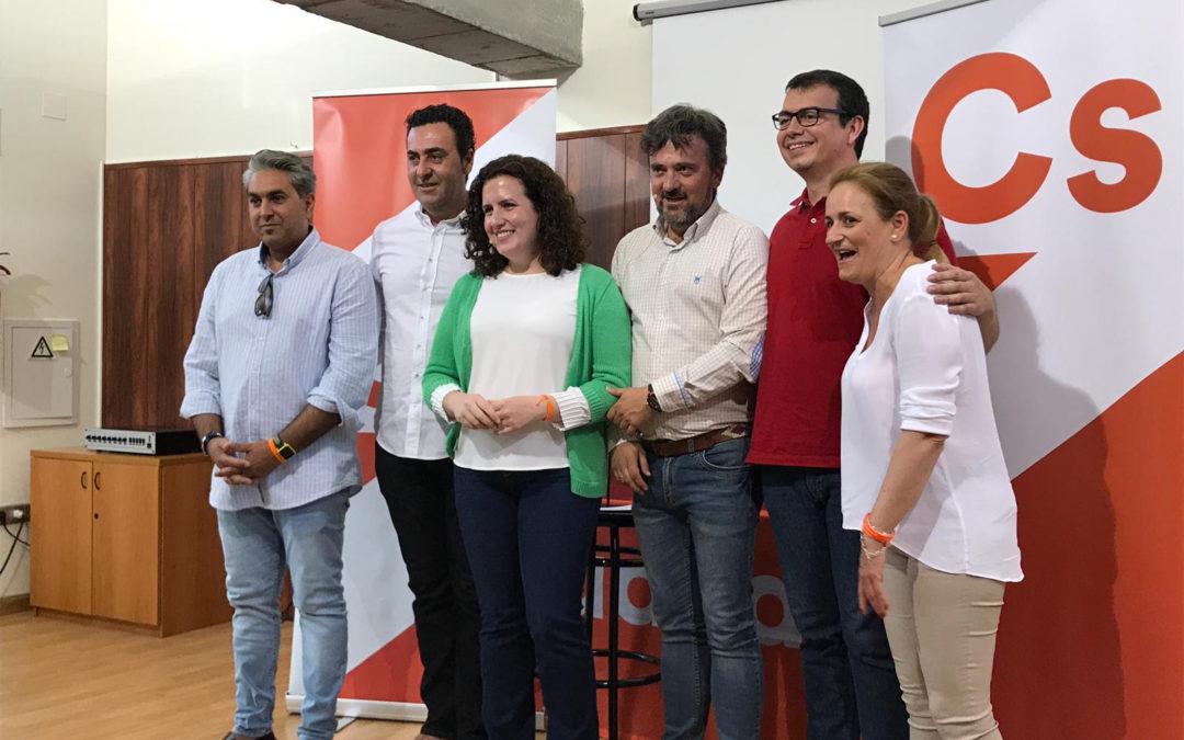 Ciudadanos Arjona presenta su candidatura a las municipales del 26M
