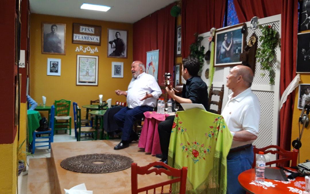 Conferencia y cante sobre la historia del flamenco en la Peña Flamenca de Arjona