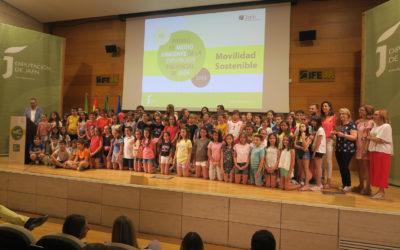 Reyes agradece la implicación del profesorado a la hora de incentivar los desplazamientos sostenibles del alumnado