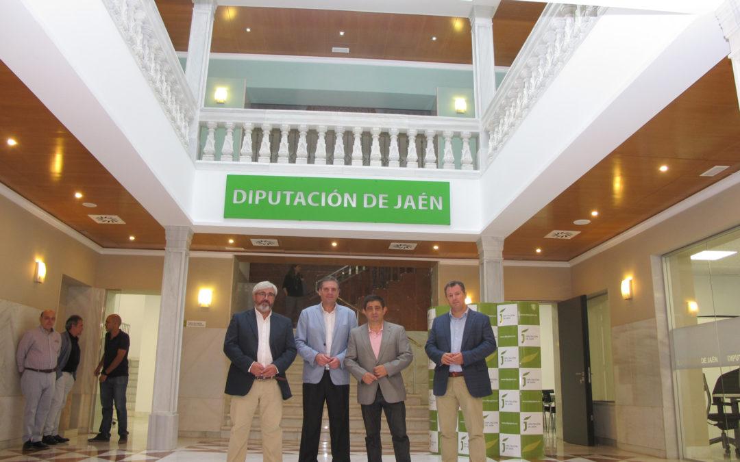 Diputación inaugura sus nuevas dependencias ubicadas en la antigua sede de la Cámara de Comercio