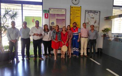 Visita institucional a las instalaciones sanitarias de Martos