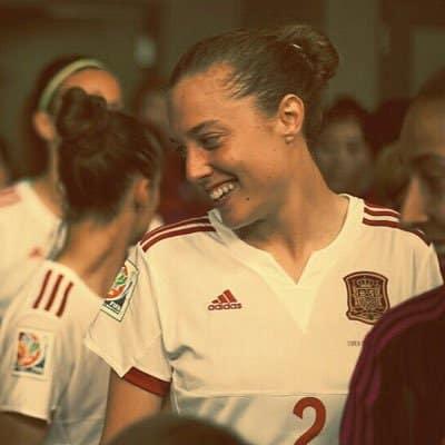 Celia Jiménez ya está en Francia para disputar el Mundial de Fútbol