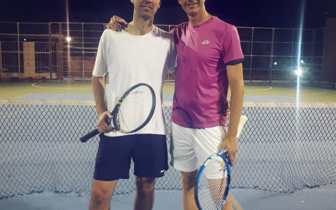 Diego Carrillo, campeón del II Torneo de Primavera de Tenis
