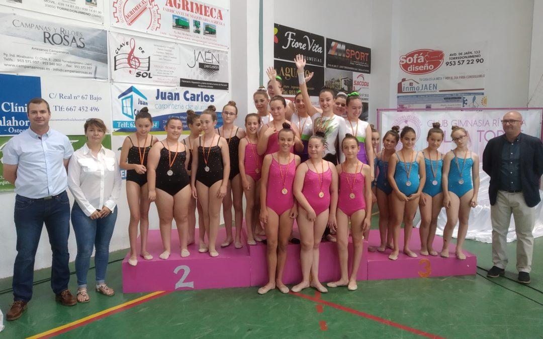 El Club Villatorre celebra su fin de curso con una exhibición de gimnasia rítmica
