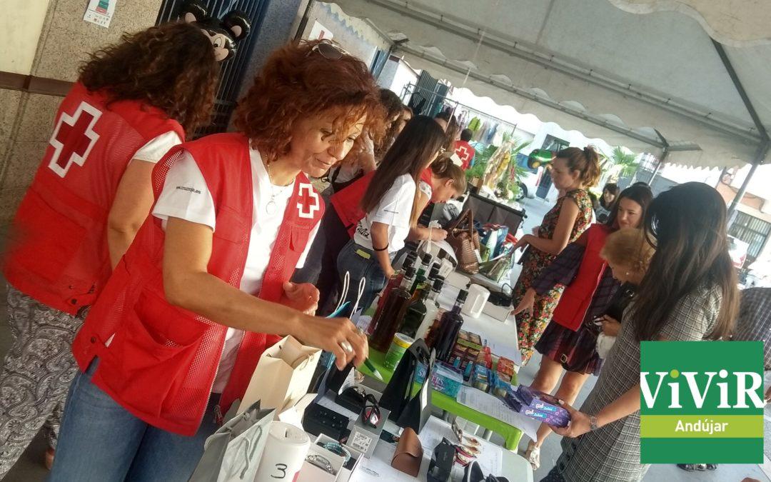 Cruz Roja organiza un Mercadillo Solidario con la colaboración del comercio iliturgitano