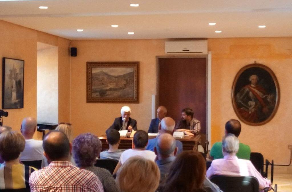 Miguel Sánchez Bustos presenta su novela Benadam en el Palacio del Intendente Olavide