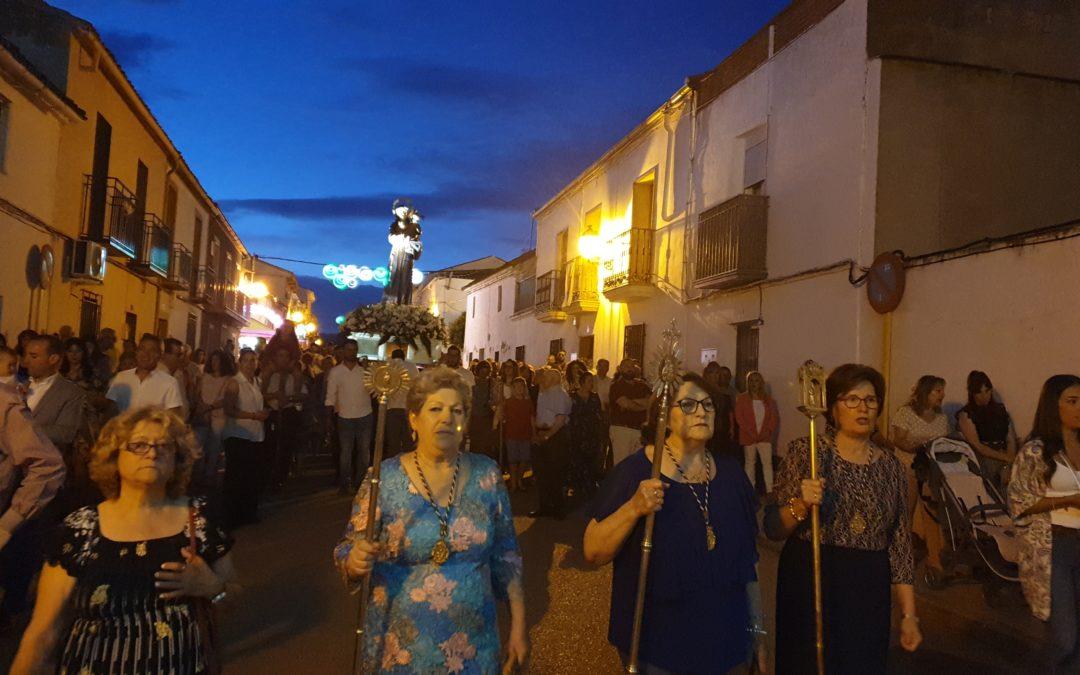 Procesión de San Antonio de Padua en Navas de Tolosa