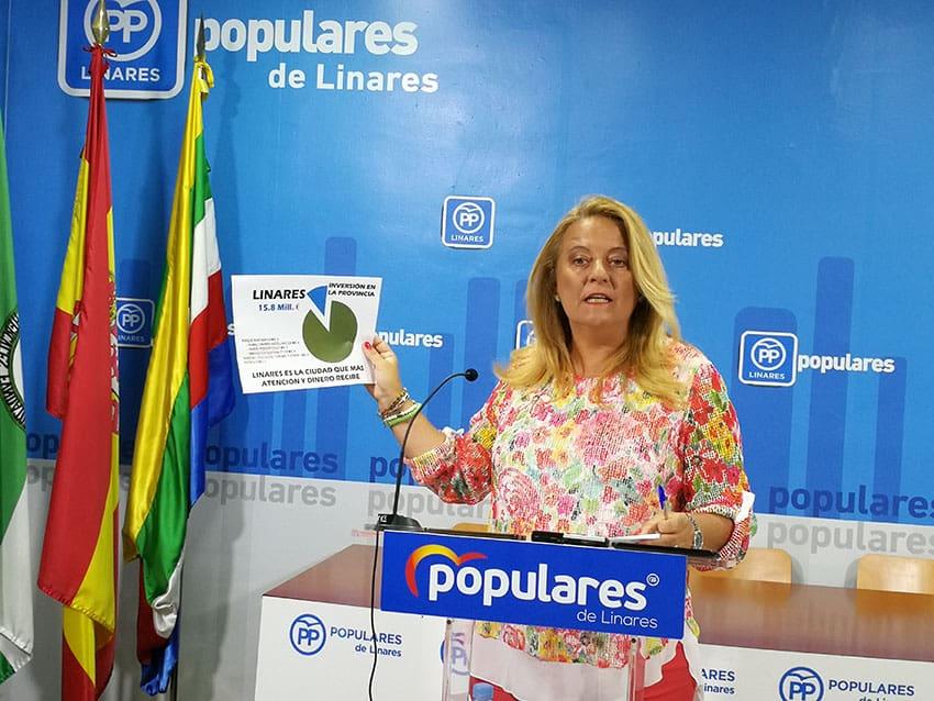Linares recibirá 15.8 millones de euros en los presupuestos de la Junta
